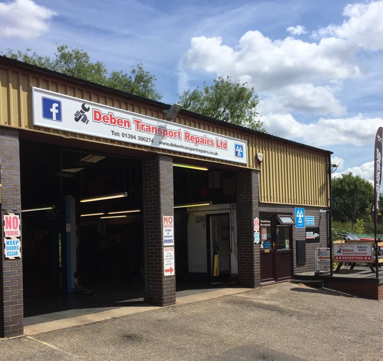 Deben Transport Repairs workshop - MOT and Car Servicing in Woodbridge
